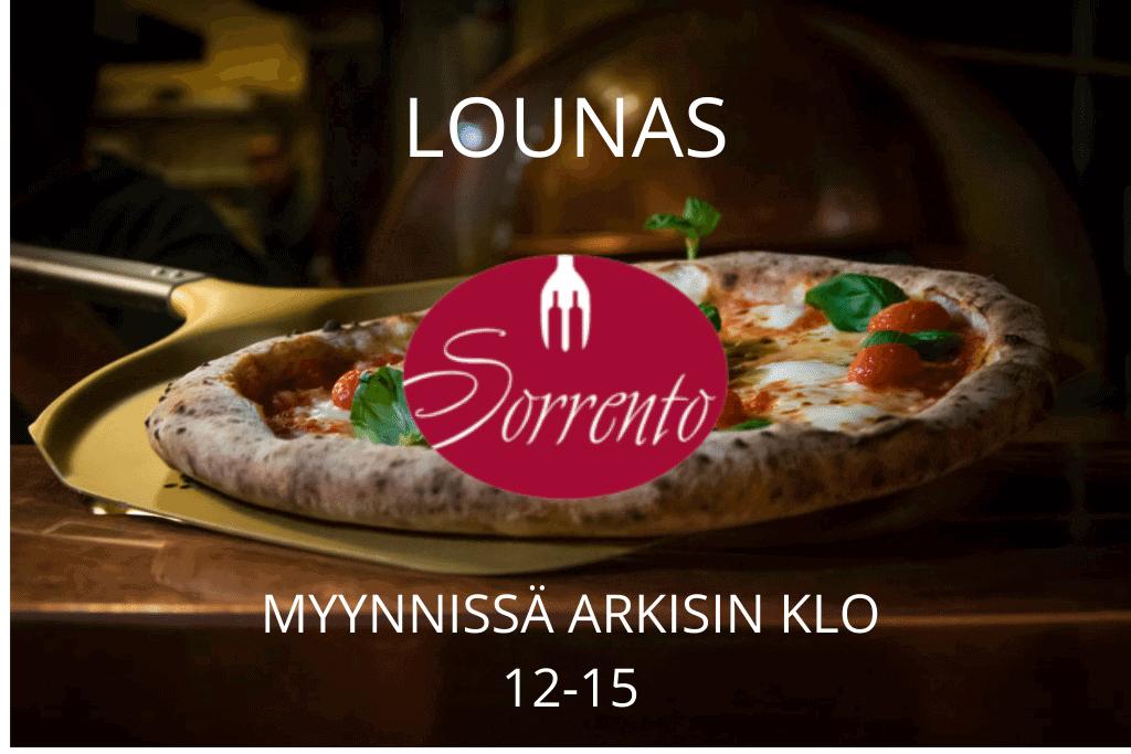 4) Lounas/ Lunch