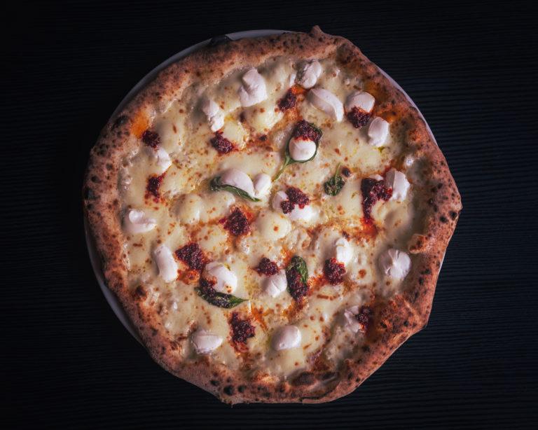 pizza Nduja e ricotta